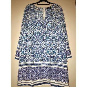 Allen Schwartz Long Sleeve Dress